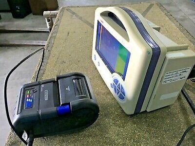 Casmed 750-c Vital Signs Monitor Wspo2 Cmp-20 Printer Power Devicecord