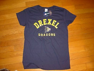 Du Drexel University Dragons   Womens  T Shirt New Sz     Xxlarge  Xxl  2Xl