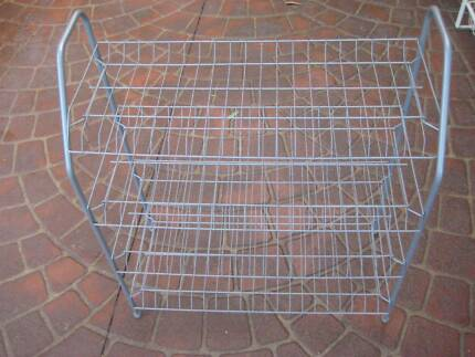 METAL SHOE RACKS AND DRAWER UNITS (3) -GOOD CONDITION $5 EACH Heathcote Sutherland Area Preview