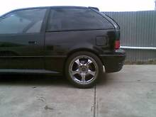 """16"""" chrome rims with tyres 4x114.3 Brooklyn Park West Torrens Area Preview"""