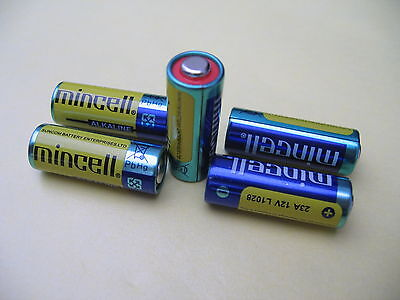 5 Pcs 23a A23 Battery 12v 12 Volts 5 Pc