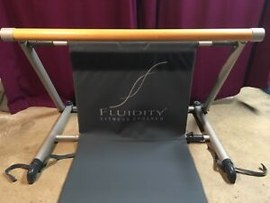 Fluidity Fitness Evolved Exercise Bar & Mat - Stretch Equipment