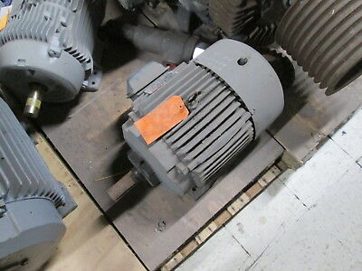 Reliance Ac Motor P25g0371e-g19-vpmn2820 15hp 3600rpm Fr254t Encltefc Used