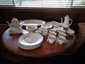 Wedgwood Willow Weave Pattern 1960's 48pce set Dandenong North Greater Dandenong Preview