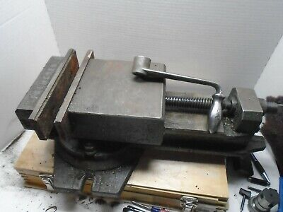 Palmgren Accu-lock Precision Machine Vise 6 Jaw Width Swivel Base Qm16