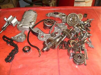 Engine parts XS500 Yamaha TX500 serial number 1J3 100986 Lot 91