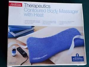 Sunbeam Therapeutics Contoured Body Massager Strathfield Strathfield Area Preview