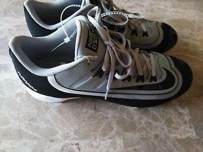 e2f371ead418e New Men Nike Huarache Filth low grey black Metal Baseball Cleats Size 10.5