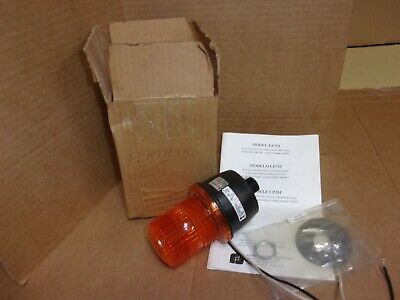 Federal Signal Lp3m Amber Strobe Flashing Light New