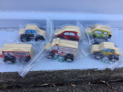 Wooden Car Bundle. New. Age 3+