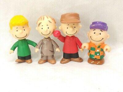Charlie Brown Peanuts Figures Set Christmas. 2012 Nativity Scene. Clean See Pics ()