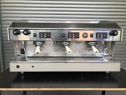 Wega atlas 2 group red espresso coffee machine cheap reliable wega atlas coffee machine fandeluxe Images