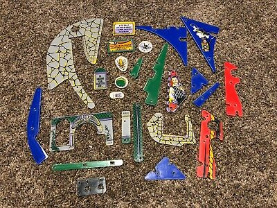 Bally The Addams Family pinball machine NOS plastics lot. Pinball parts. TAF