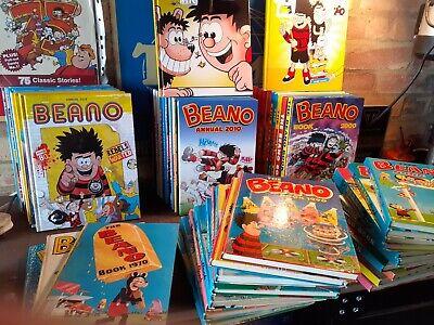 BEANO annuals 54 Years! 1967-2021
