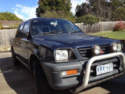 Triton duel cab ute, Mitsubishi  Morwell Latrobe Valley Preview