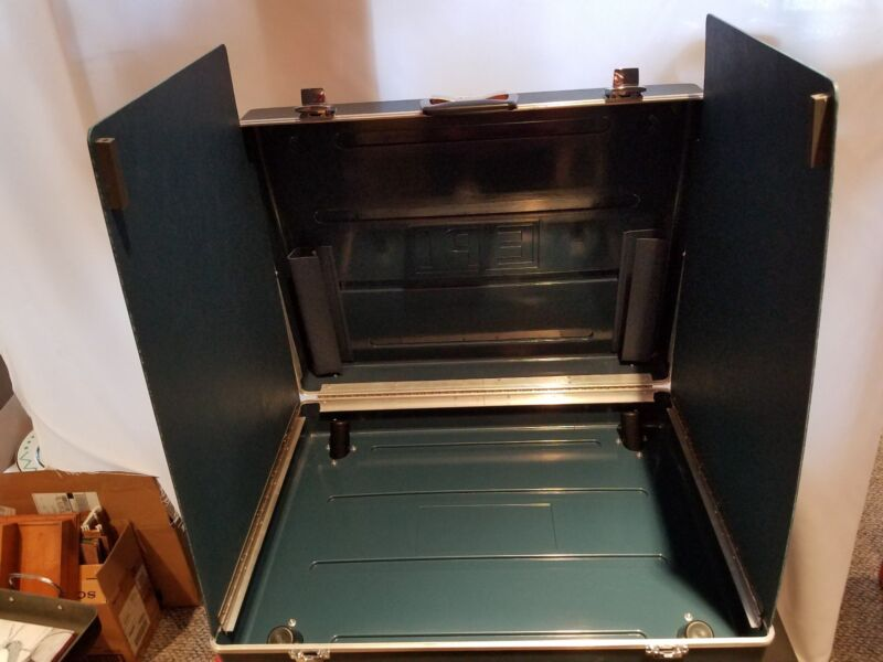 2 VTG ESS EPI Voting Machine Election Booth Portable Mobile Stand Case (NO LEGS)