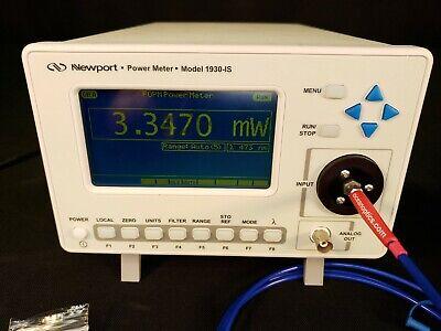 Newport 1930 Is Integrating Sphere Optical Laser Power Meter 400-1650nm - Tested