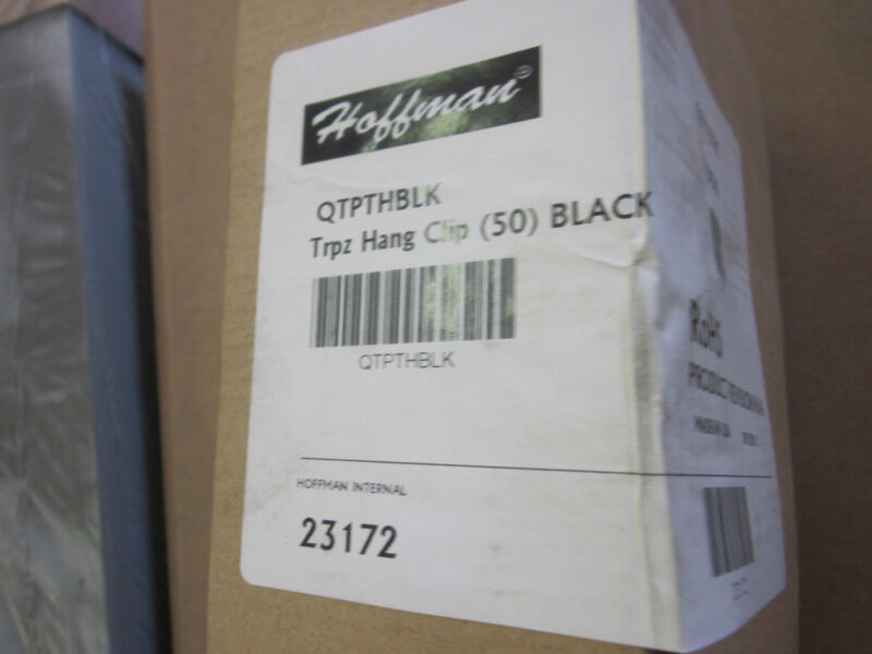 Hoffman QTPTHBLK (NEW)