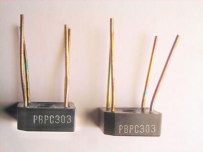 Pbpc303  200v 8a General Instrument Full Wave Bridge Rectifier Square 2 Pcs