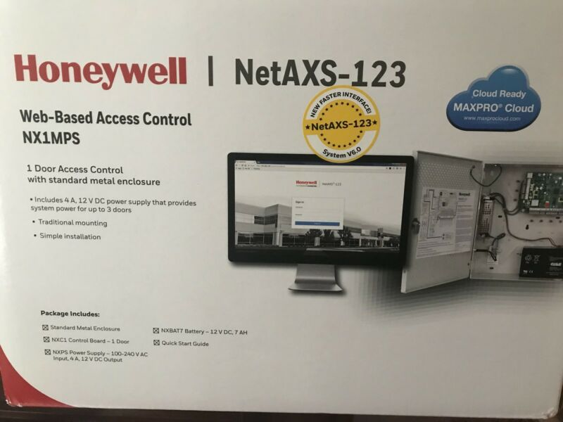 HONEYWELL NetAXS 123 NX1MP Net AXS