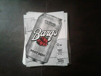 33royal Vendors Soda Vending Machinebargs Rootbeer Labels Selection Tabs