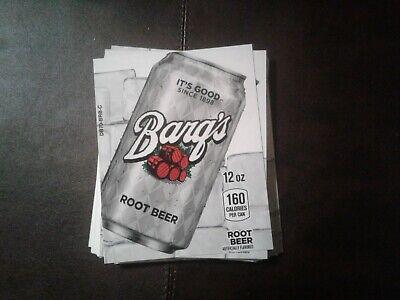33royal Vendors Soda Vending Machinebargs Rootbeer Labels Selection Tabs