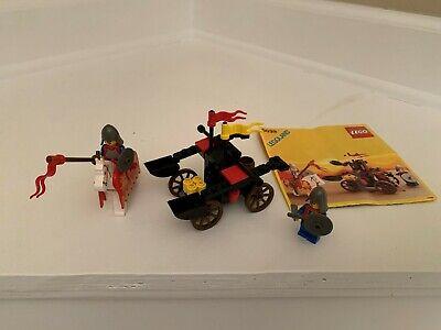 Vintage LEGO Castle 6039 Twin Arm Launcher 100% Complete w/Instructions No box