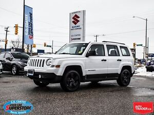 2015 Jeep Patriot Altitude 4x4 ~Black Alloy Wheels ~Fog Lamps