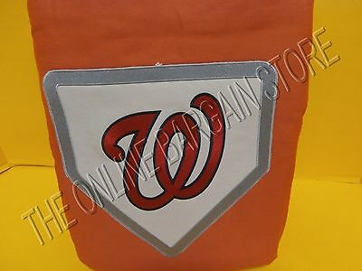 Mlb Baseball Bettwäsche (Pottery Barn Teen MLB Baseball Dorm Duvet Washington Nationals Full Queen Fq)