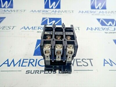 Gould 2200r Ebr430aa Contactor 50 Amp 600 Volt 110120v Coil