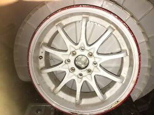 16 inch multiple bolt pattern rims good condition
