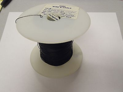 28ga 28awg Solid Kynar Black Wire Wrap 100ft Hook Up Wire L4