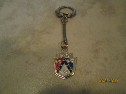1950S FORD CREST KEY CHAIN UNUSED NM