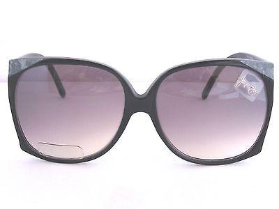 JACQUE ROJAY PAM Black Designer Sunglasses Vintage NOS