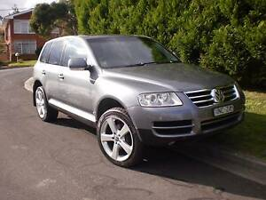 2003 Volkswagen Touareg Wagon Abbotsford Yarra Area Preview