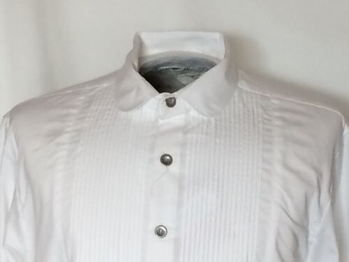 White Frontier Formal Western Gent Shirt, Small-3X, and XL-XXXL Tall Size