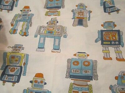 THE LAND OF NOD ROBOT TWIN FLAT SHEET