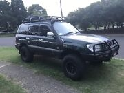 1998 Toyota Landcruiser 100 series GXL FZJ105R Casula Liverpool Area Preview