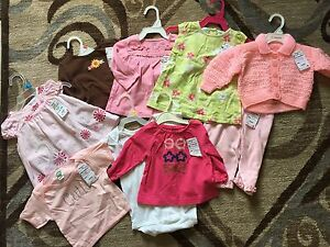 6-9 mn Girl's Clothing Lot
