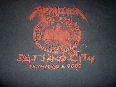 Metallica 2008 Tour Shirt ( Used Size XL Short ) Good Condition!!!