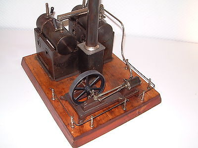 Doppel- Kesselmaschine uralt Dampfanlage von Doll ca. um 1890 - Sehr Selten *