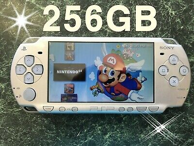 Sony PSP 2001 Silver With 256GB Game Bundle