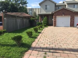 Free hold town house no condo fee