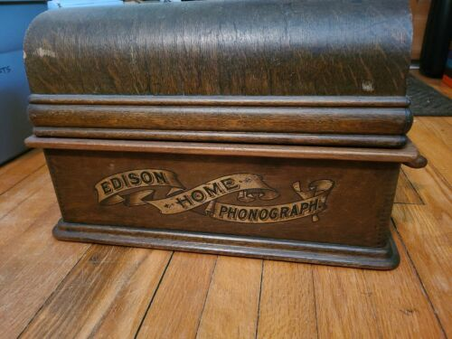 Nice Edison Home Phonograph Record Wax Cylinder Player Antique model a c d