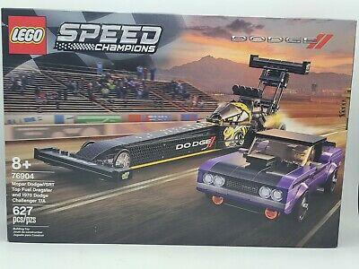 LEGO Speed Champions Mopar Dodge SRT Top Fuel Dragster & 1970 Challenger, 76904