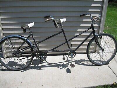 0eebd81691b VINTAGE SCHWINN TWINN 2 SPEED Tandem Bicycle CHICAGO MADE FOR PARTS OR  RESTORE