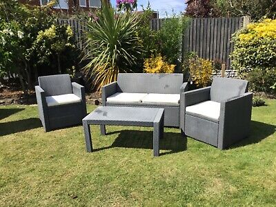 Rattan Effect Garden furniture patio set