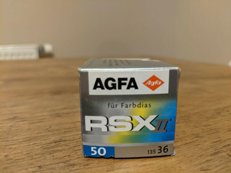 Agfa RSX II 50 Professional Slide Film