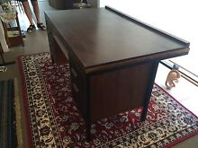 Large wooden desk Buderim Maroochydore Area Preview