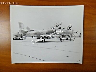 Douglas Skyhawk Cecilfield TA-4J Navy Fighter Aircraft Photo 8x10